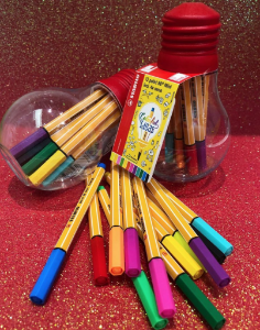 Stabilo Colorful ideas! Kit com 12 mini point88!