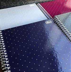 Caderno espiral capa dura universitário - 1 Matéria - Académie