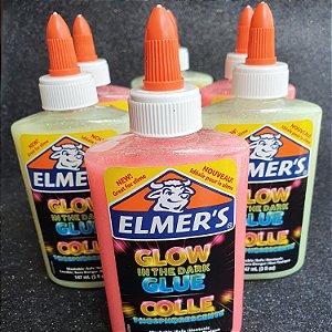 Cola Elmer's que brilha no escuro