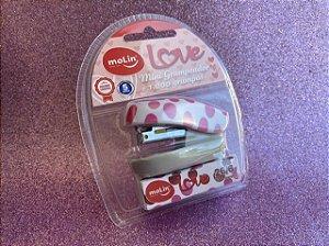 Mini Grampeador Love + 1.000 Grampos Molin