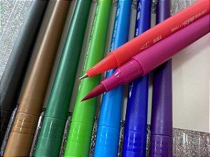 Caneta Tris Sketch Ponta Dupla Brush e Fineliner - Estojo com 12