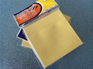 Bloco Adesivo BRW Amarelo - 100 folhas