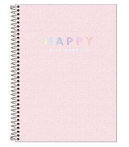 Caderno Universitário Happy - 1 matéria - Tilibra