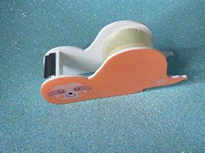 Suporte para fita adesiva/washi tape - bicho preguiça