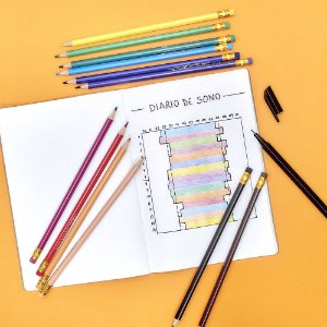 Lápis de Cor Apagável Leo&Leo - 12 cores
