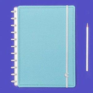 Caderno Inteligente Azul Celeste - Médio
