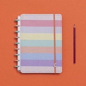Caderno Inteligente Arco Íris Pastel - Médio