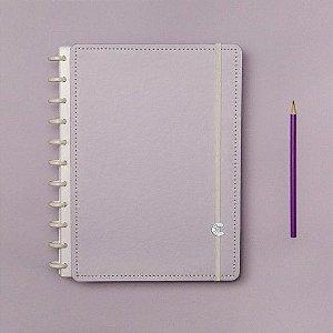 Caderno Inteligente Lilás Pastel - Médio