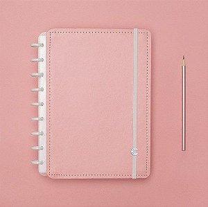 Caderno Inteligente Rose Pastel - Médio
