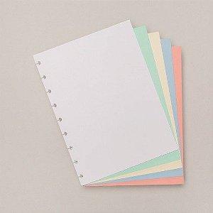 Refil Colorido Médio - Caderno Inteligente