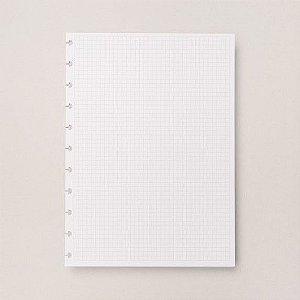 Refil Quadriculado Médio - Caderno Inteligente