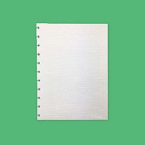 Refil Linhas Brancas 120g Grande - Caderno Inteligente