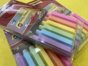 Marca texto pastel - Newpen - 6 unidades