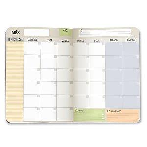 Planner Mensal - Cartões Gigantes