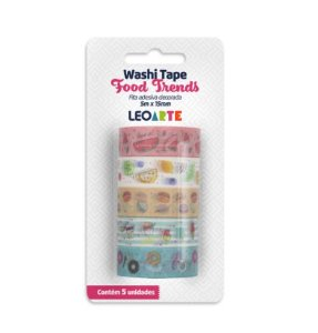 Washi Tape Food Trends - Leo&Leo