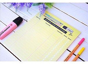 Planner Estudando Duro A5 - Papelote