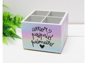 Porta Pincéis Amor Próprio - Papelote