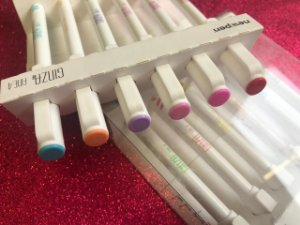 Ginza Fine 0,4mm - Estojo com 6 cores