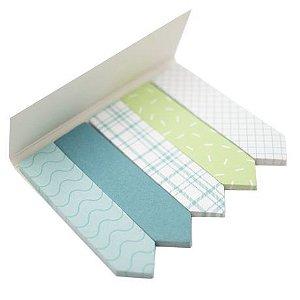 Marcador de Página Bee Unique - Coleção Mojito - Verde e Branco