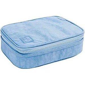Estojo Box - Tilibra - Académie Azul Claro