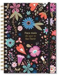 Caderno Colegial - Fina Ideia - Fiore 96 Folhas