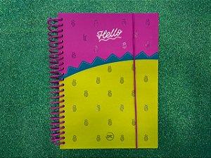 Caderno Colegial - DAC - Hello 160 Folhas