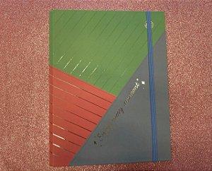Caderno Argolado Colegial - DAC - Enjoy