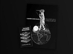 """COMBO - Livro + pôster """"Tomada de posse"""", de Louise Michel"""