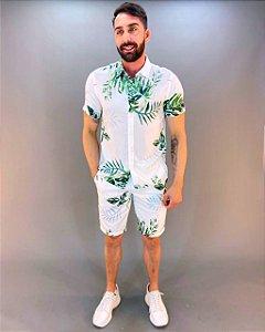 Camisa Estampada Masculina Colcci
