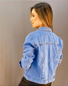 Jaqueta Jeans Feminina Lady Rock