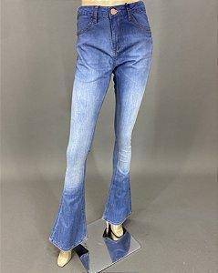 Calça Jeans Flare CC Midi Skinny Boot John John