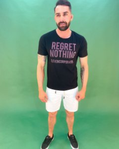 Camiseta Regret Nothing Masculina