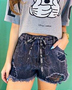 Shorts Jeans Colcci Taylor Moletom Feminino