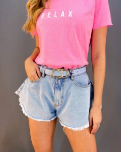 Shorts Jeans Lady Rock Godê Feminino