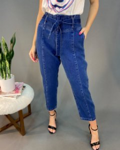 Calça Jeans Trama Clochard Feminina
