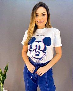 T-shirt Colcci Mickey Holográfico Feminina