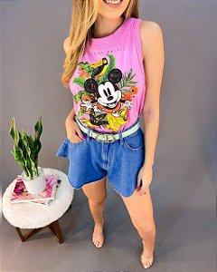 Regata Colcci Mickey Feminina