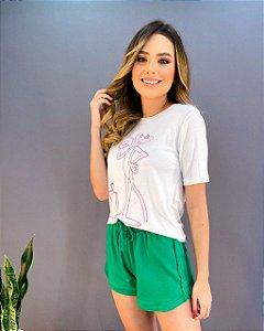 T-shirt Pantera Feminina