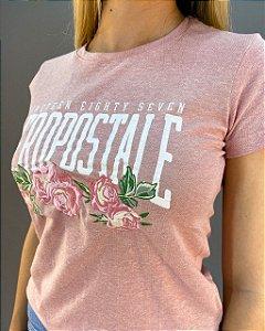 T-shirt Aéropostale Rosas Feminina