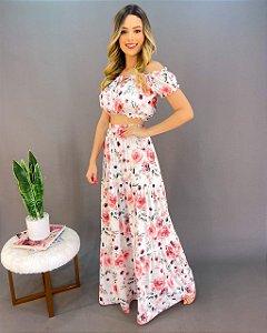 Conjunto Floral Feminino