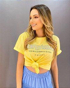 T-shirt Colcci Perfeitíssima Feminina