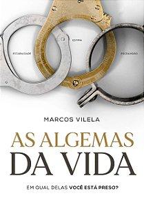 Livro As algemas da vida - Marcos Vilela