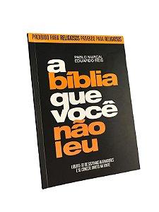 Livro A bíblia que você não leu - CAPA EDITADA.