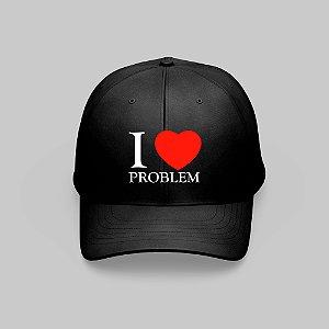 Boné I LOVE PROBLEM