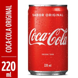 Coca cola LATA 220ML CX 12