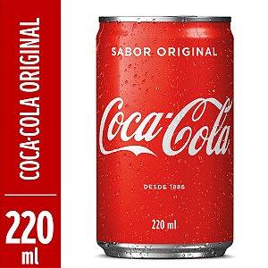 Coca cola LATA 220ML CX 12