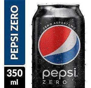 Pepsi Zero Açúcar LATA 350ml CX 12