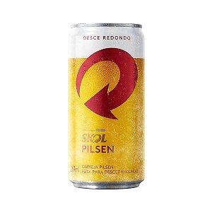 Cerveja Skol 269 ml Lata - 15 Unidades