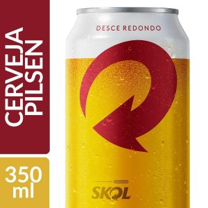 Cerveja Skol Pilsen Lata 350ml-pct 12