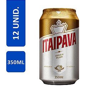 Cerveja Itaipava lata 350ml-Cx 12
